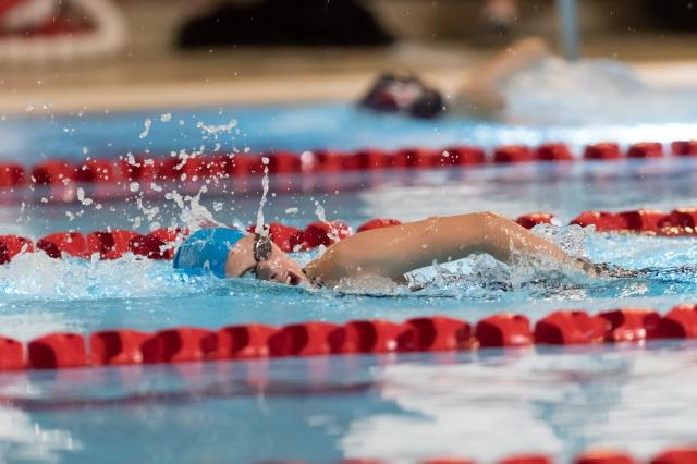 100m Frisvømning Damer. GTI Cup 2016, Greve svømmehal. 1. oktober 2016. Foto: Jesper Nielsen | www.sttfoto.dk